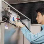 冷凍・冷蔵庫 熱交換器クリーニングサービス